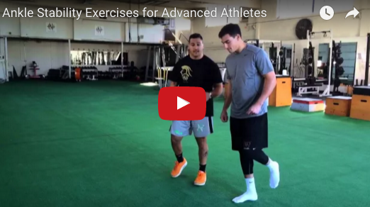 ankle stability exercises for advanced athletes video thumbnail