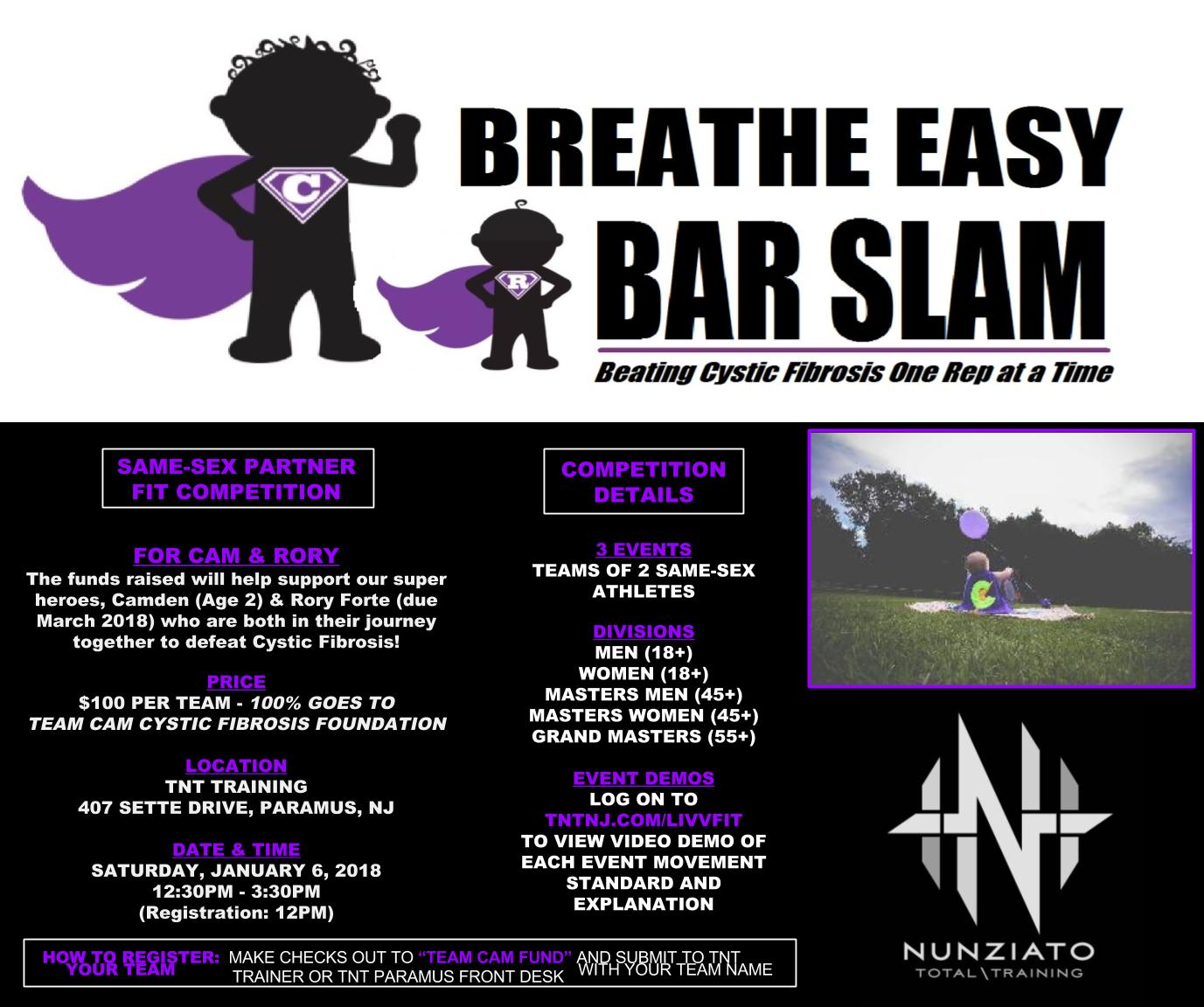 Breathe Easy Bar Slam Ad 2018